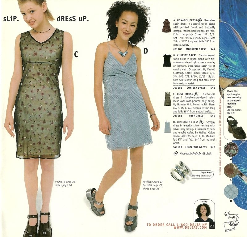 More Late 90s Early 00 S Catalog Nostalgia Delia S Tutus And Tiny Hats
