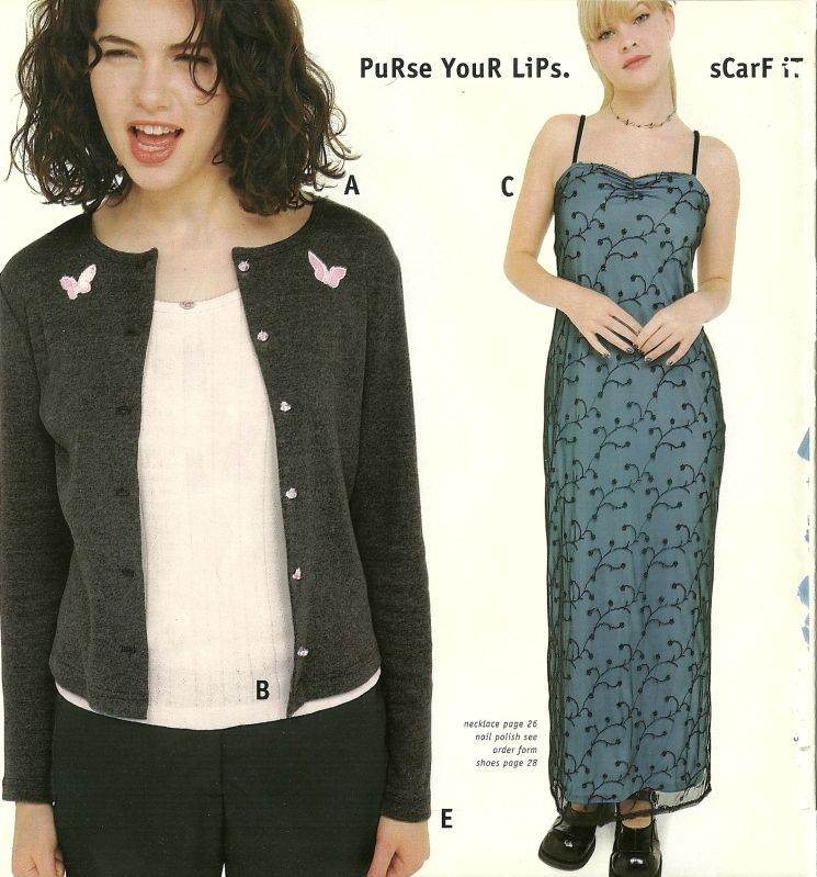 More late '90s/early 00's catalog nostalgia: Delia*s ...