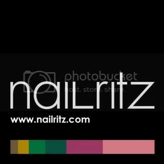 NailRitz Review of neon nail art pens @GrowingForChrist