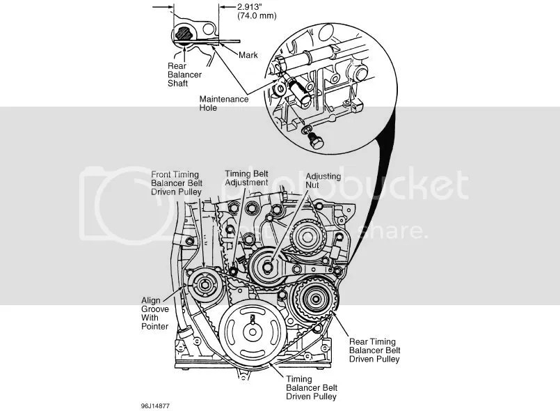 SOLVED: Need a diagram for the f22b timing belt and balanc