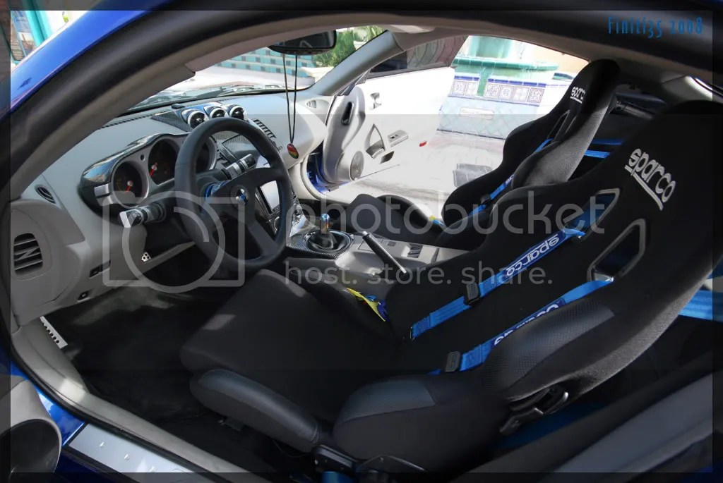 Pics of Works Bell quick releaseSparco steering wheel