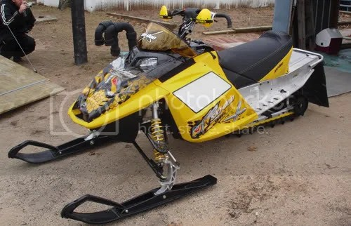 2004 2007 Ski Doo Mxzx 440 Seat