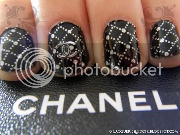 Lacquer Boudoir - Chanel 2.55 Manicure