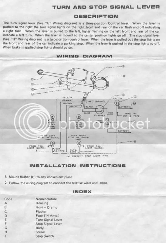 Yankee Turnflex Turn Signals  Hot Rod Forum : Hotrodders