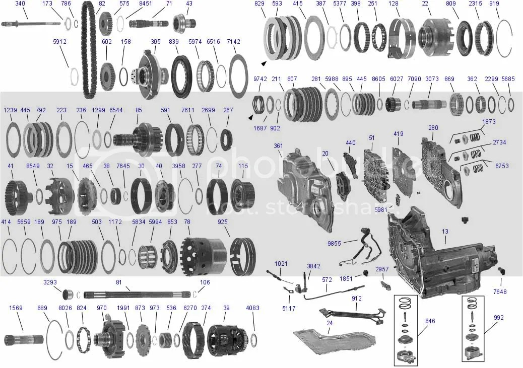 Gm 4t60e Transmission Parts Diagram, Gm, Free Engine Image