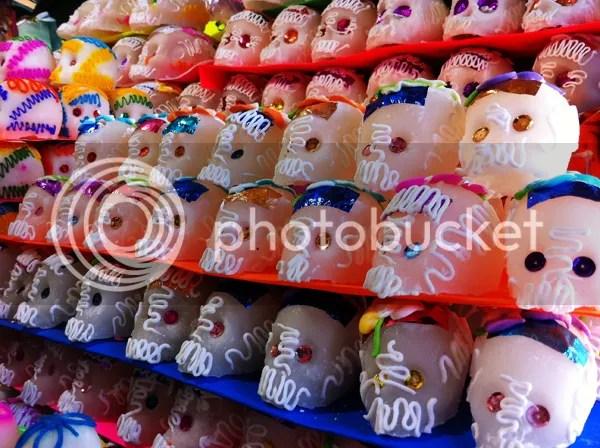 Oaxaca Mexico Sugar Skulls