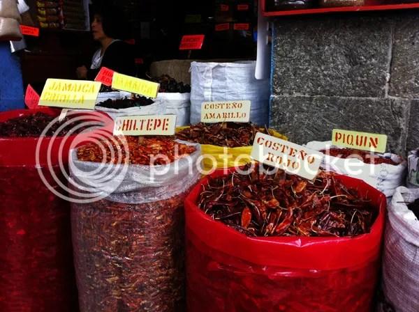 Oaxaca Market Chili