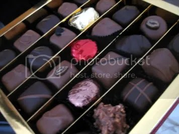 Haigh's chocolates- a gift for my friend