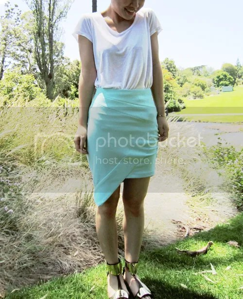 White Suede Complexity Skirt