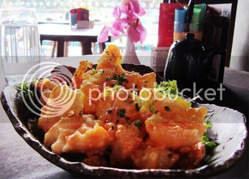 Popcorn shrimp Sake Restaurant
