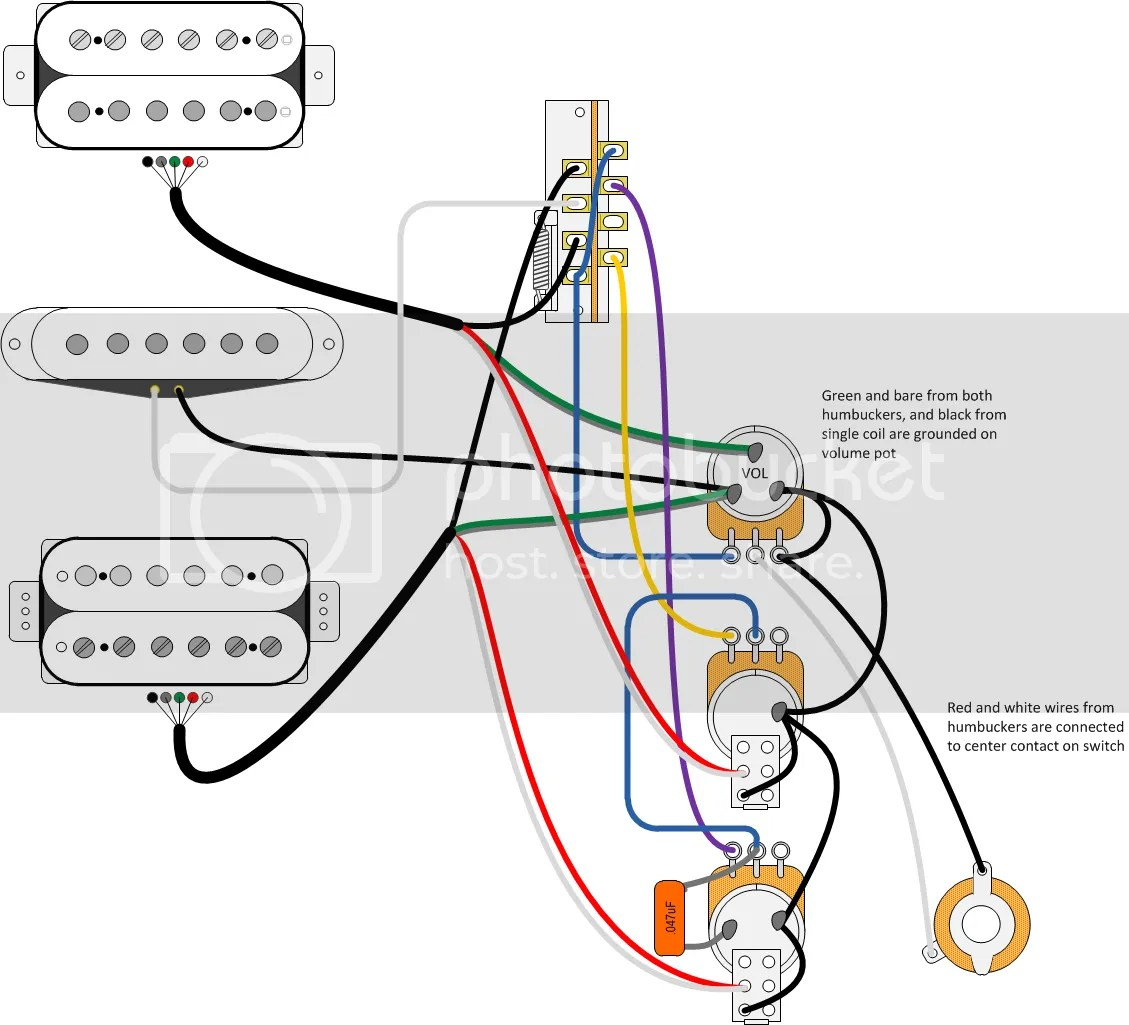 hight resolution of fender blacktop stratocaster hh wiring diagram
