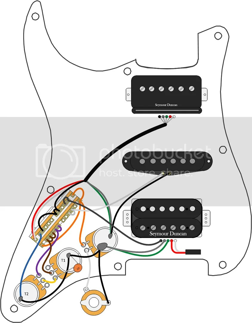 Diagrams 4 Wire On Wiring Diagram In Addition Seymour Duncan Rails