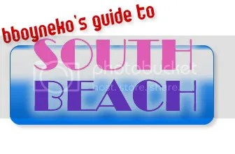 bboyneko's guide to south beach