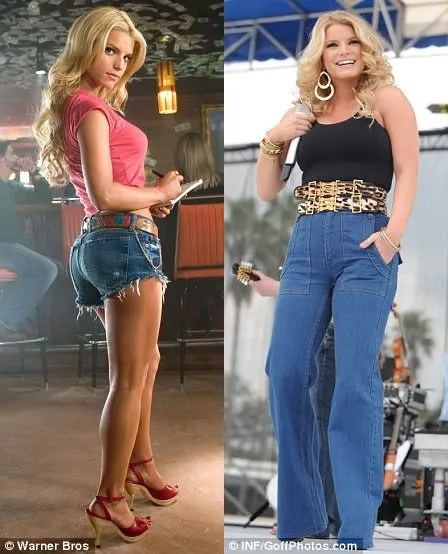 Jessica simpson chubby pictures