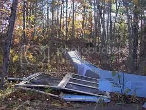 Windstorm damage 2006