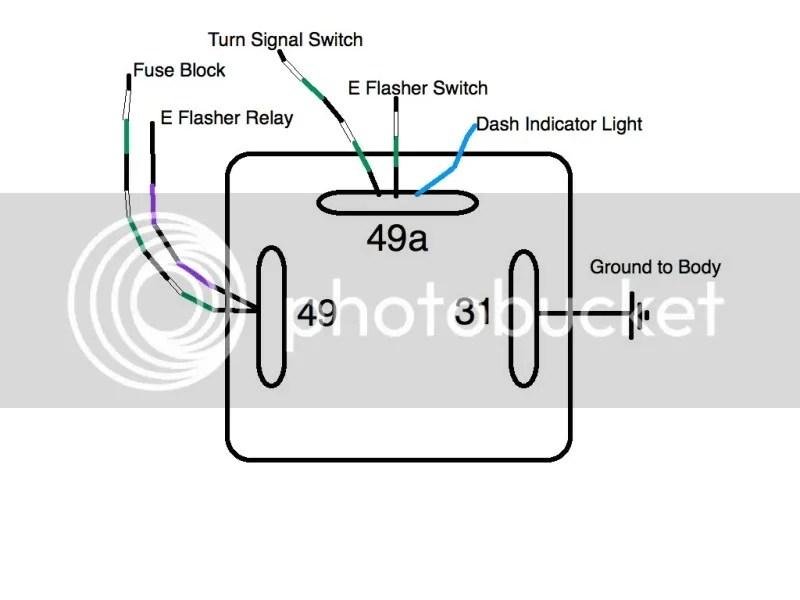 4 pin flasher unit wiring diagram 2 Pin Flasher Relay Wiring Diagram thesamba com split bus view topic flasher relays 2 pin flasher relay wiring diagram