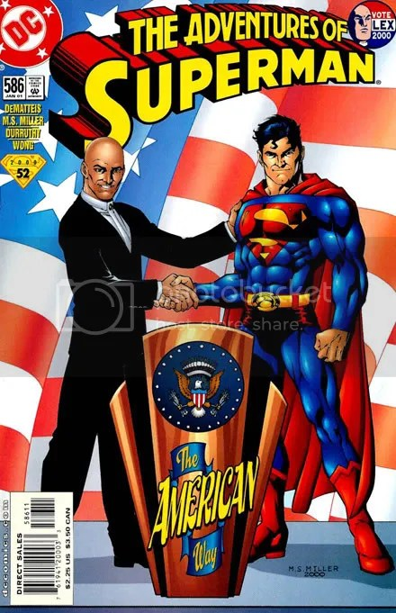 Image result for lex luthor president