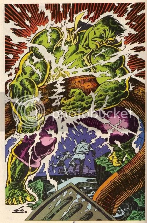 Hulk like pin-up!
