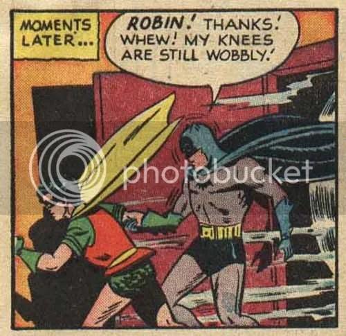 Holy knee-trembler Batman!