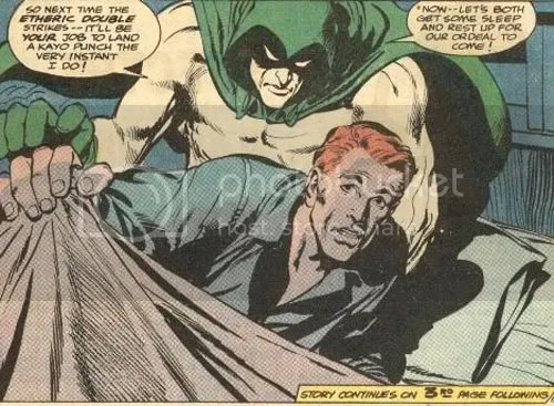 Jerry Siegel created The Spectre, dontchaknow