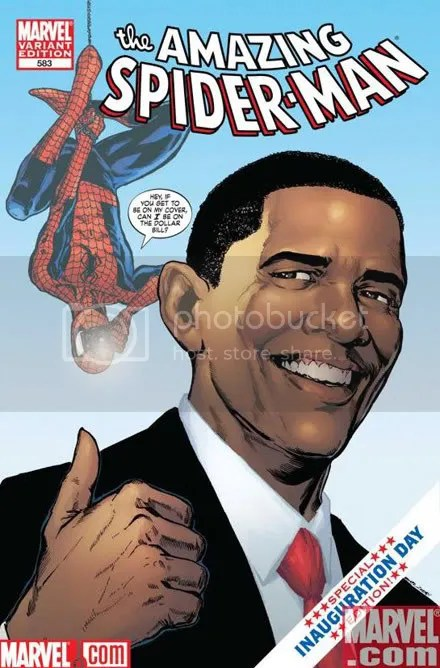 He reads comics. I'd vote for him if I was a Yank