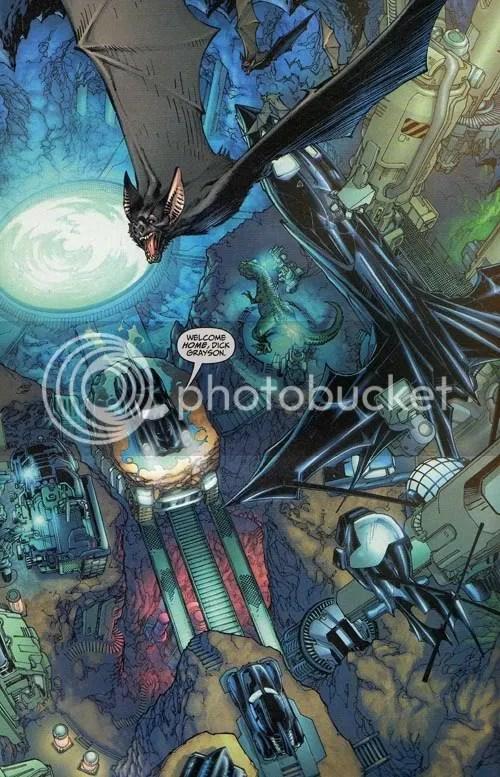 Holy splash-page Batman!