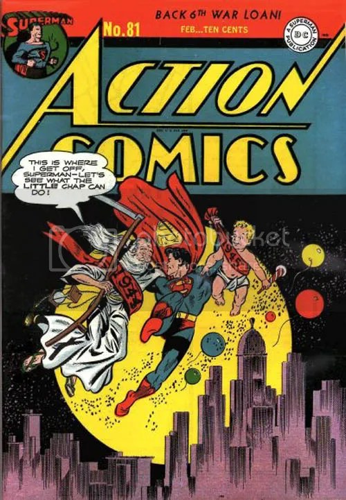 Action Comics #81! Have a great one tonight!