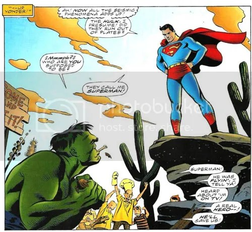 From some Hulk/Superman team-up