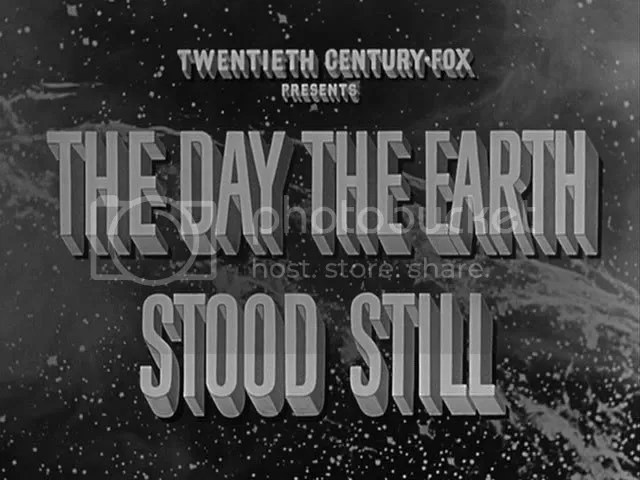 1951's The Day the Earth Stood Still, directed by Robert Wise