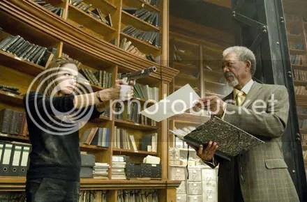 Don't shoot Morgan! He was in Unforgiven!