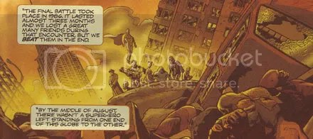 That's from issue 2 of Wanted, but the superhero/villain concept was dropped from the film
