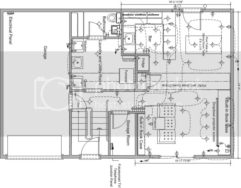 home theater wiring plan