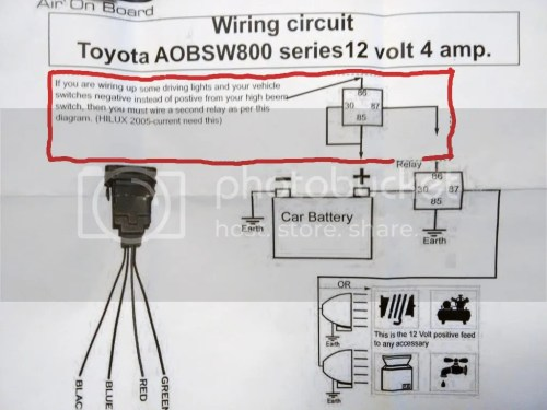 small resolution of wiring help light bar to come on with brights toyota vintage air diagram compressor pressure switch wiring diagram