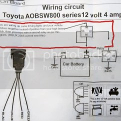 1999 Toyota 4runner Ground Wiring Diagram Handgun Slide Parts Help Light Bar To Come On With Brights