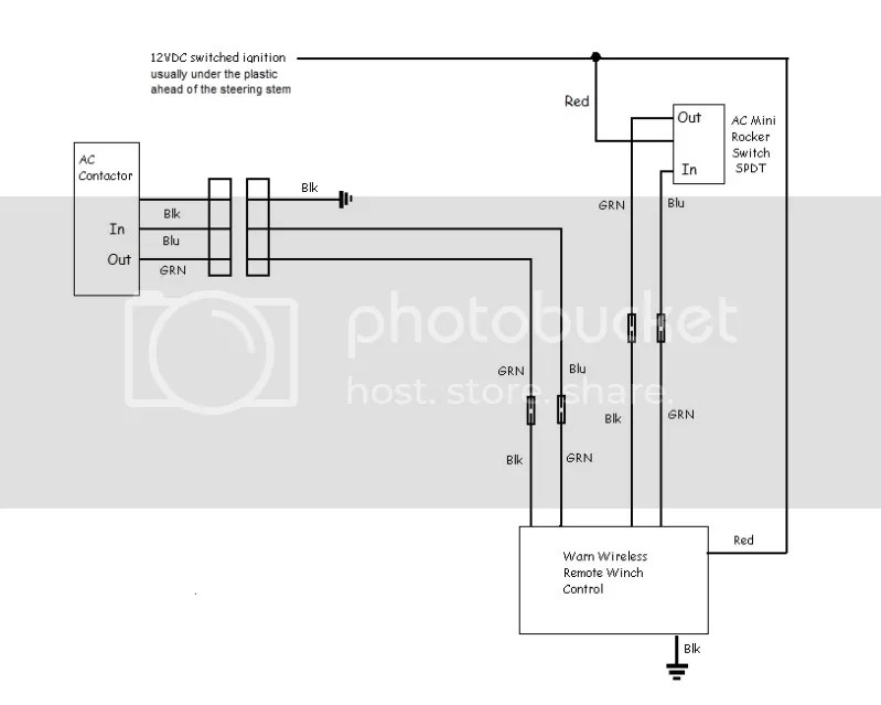 winch wire diagram champion atv wiring ramsey 12000 lb warn viking
