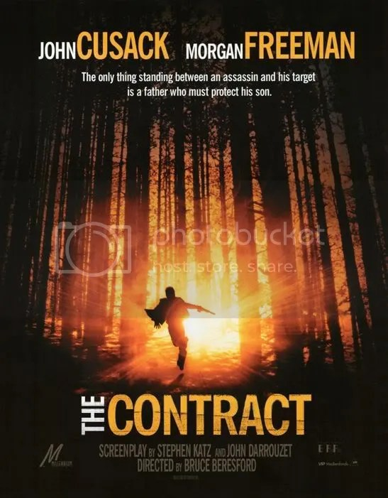 the contract movie poster