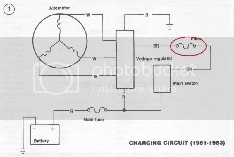 81 Virago 750 Wiring Diagram | Wiring Diagram on