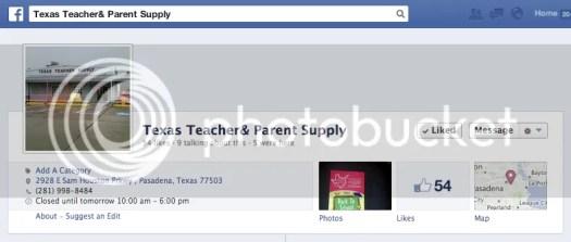 Image: Texas Teacher and Parent Art Supply - Pasadena, TX