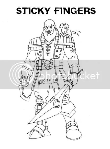 More Dr. Omega random redesigns