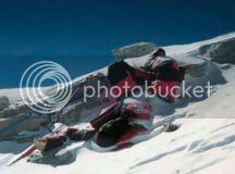 a sea of lead, a sky of slate: Abandoned on Everest