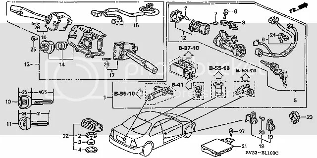 2007 Honda Element Lx Radio Wiring Diagram. Honda. Auto