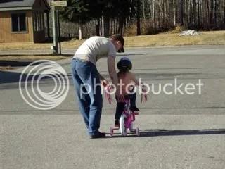daddy helping
