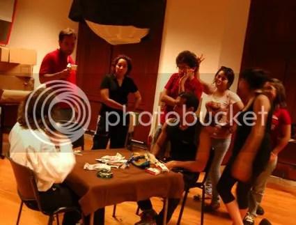 Hector, Jorge, Rox, Armando, Yop, Carmen, Vivi y Marianita.