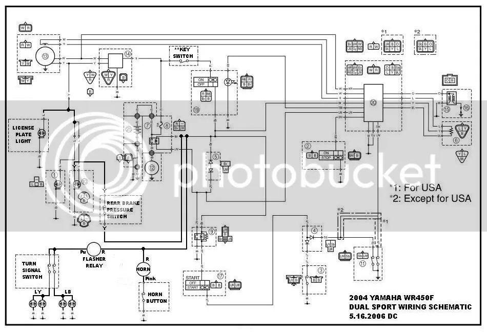 wiring diagram 2004 wr450f