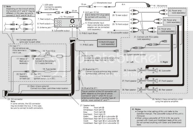 iso wiring harness diagram