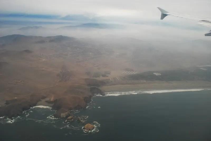 Llegando a Lima
