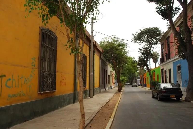 calles de Barranco