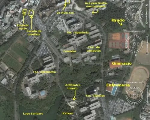 Vista satelital