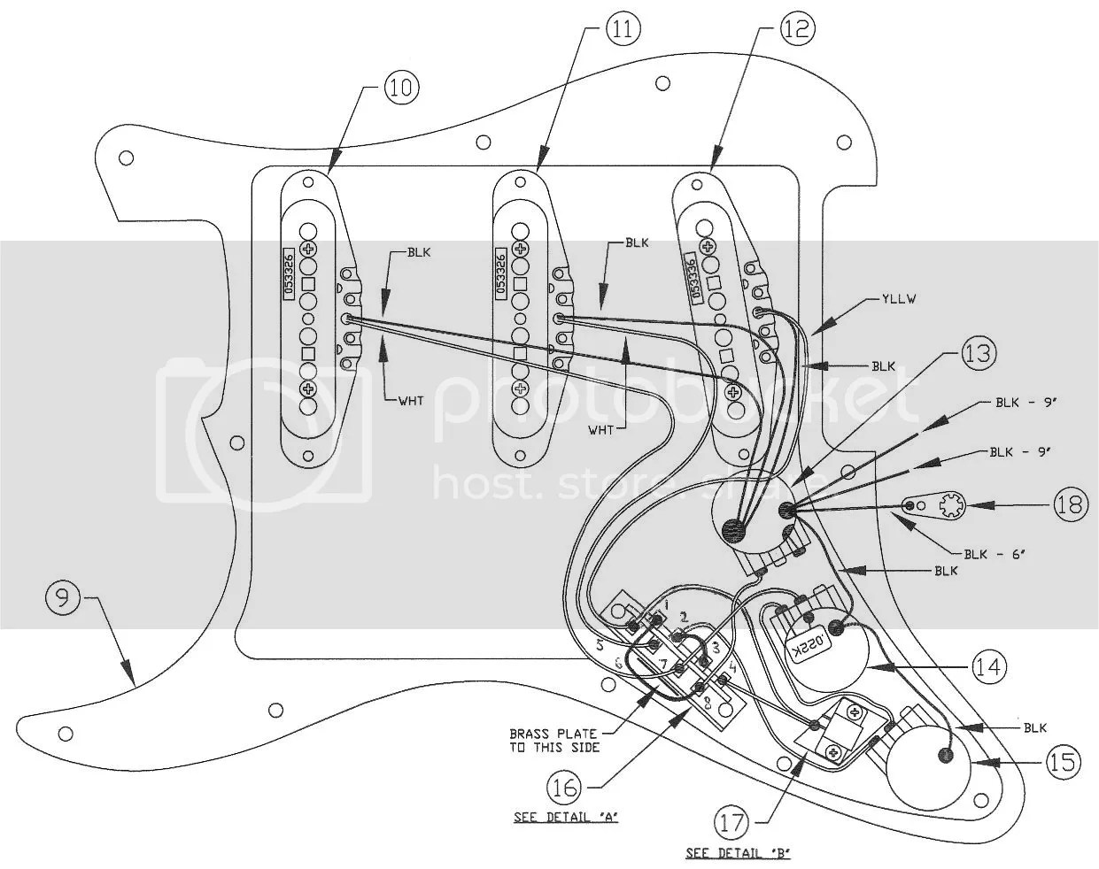 Fender Strat Pickup Wiring Diagram 2002