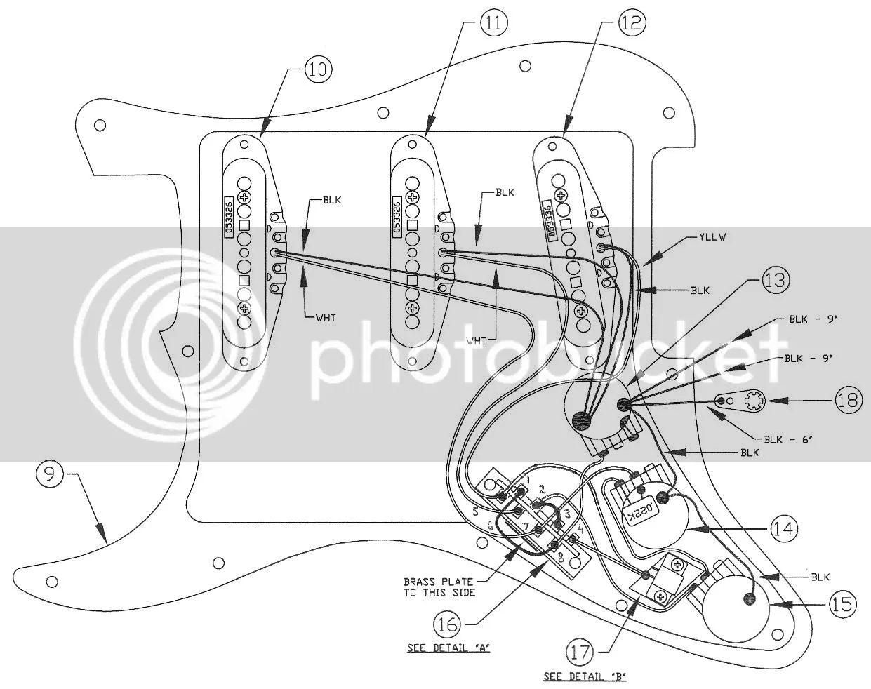 fender sss wiring diagram wiring diagram schematic